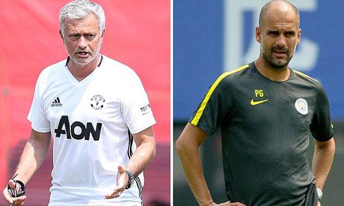 Mourinho và Pep tình bạn không đủ lớn để át tình thù