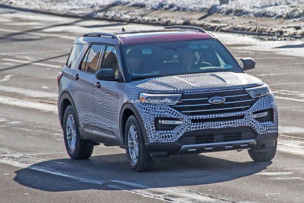 Ford Explorer 2020 lộ mặt, cạnh tranh Toyota Highlander