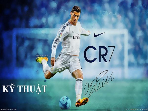 Kỹ thuật đá bóng của Ronaldo đẳng cấp của siêu sao