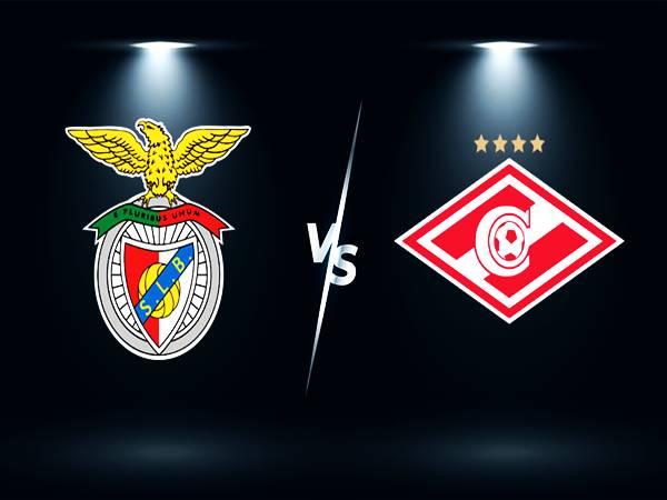 Soi kèo Benfica vs Spartak Moscow, 02h00 ngày 11/8 sơ loại Cup C1